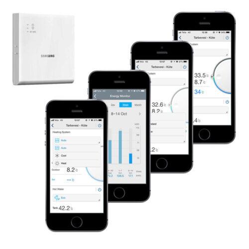 Samsung EHS MONO, küte 9 kW õhk-vesi soojuspumbad