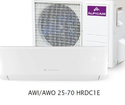 Alpic Air Eco Pro AWI/AWO-25HRDC1E (A++ / A+)