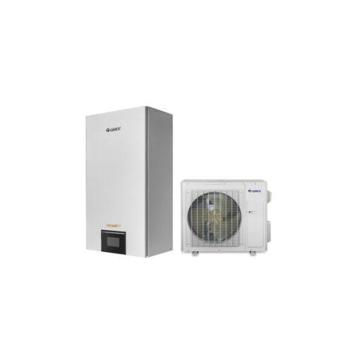 Õhk-vesi soojuspump GREE Versati III Inverter 4 kW komplekti kuulub siseseade (GRS-CQ4.0PD/NHH-E(I)) ja välisseade (GRS-CQ4.0PD/NHH-E(O)
